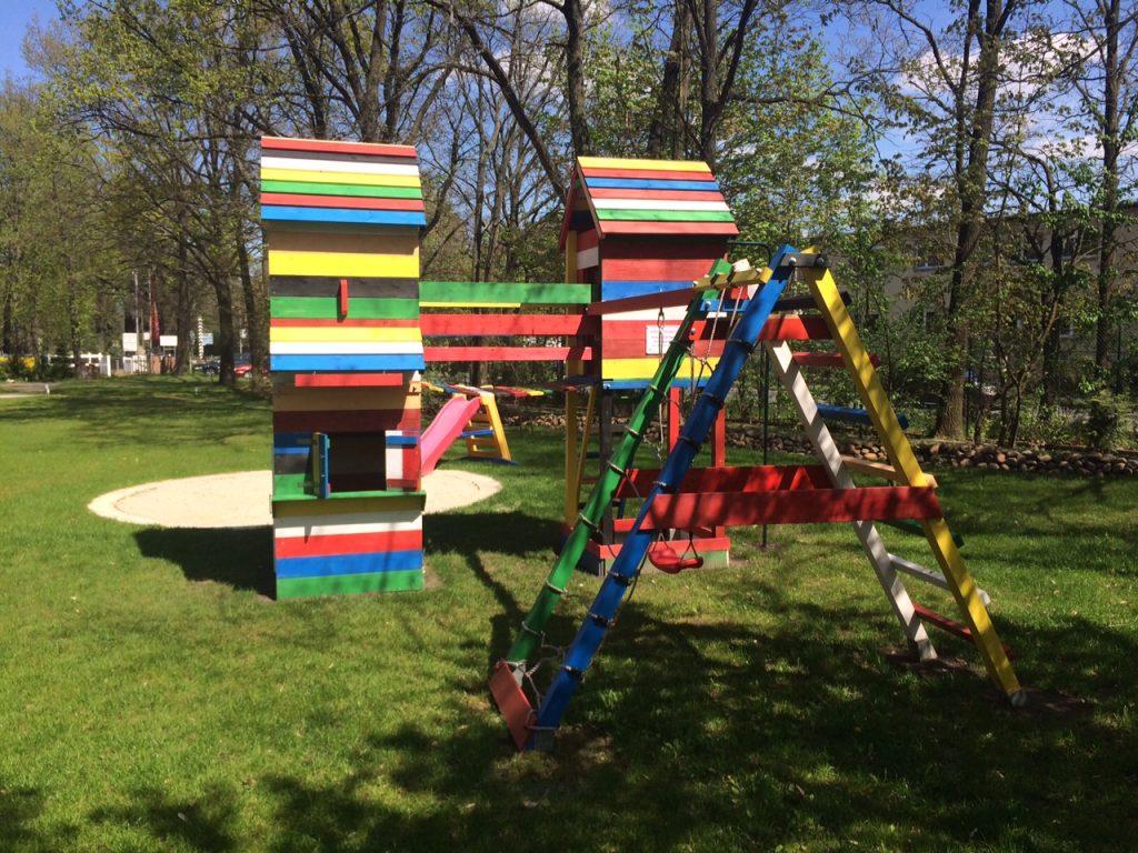 Kinder-Spielplatz Zimmervermietung Teltow