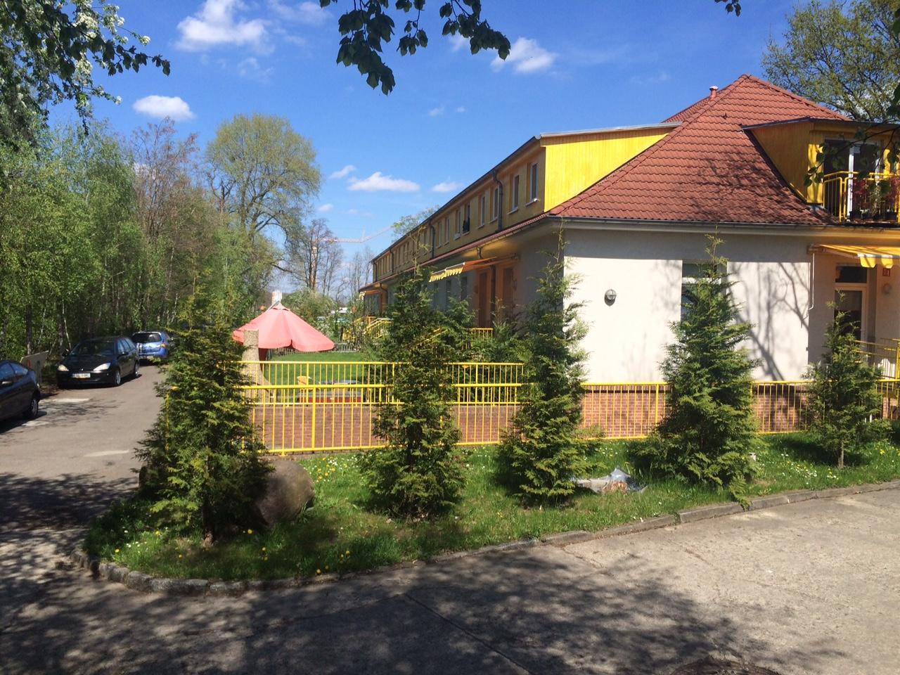 Außenansicht Zimmervermietung Teltow